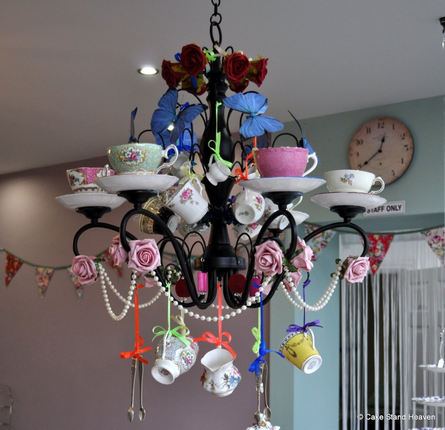 smiling chandelier img roses teacup interior chandeliers by amazing design sally