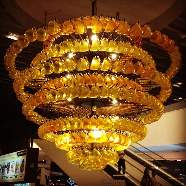 Extra Large Teacup Chandelier - From Paragon Mail Bangkok