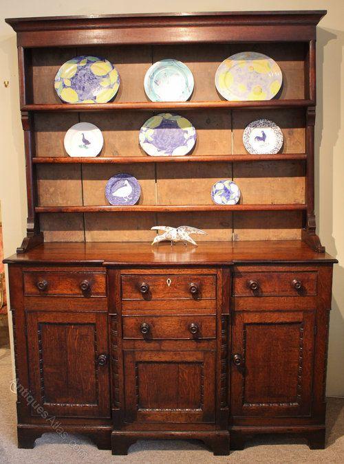 North Wales Dresser - Anglesey Oak Dresser