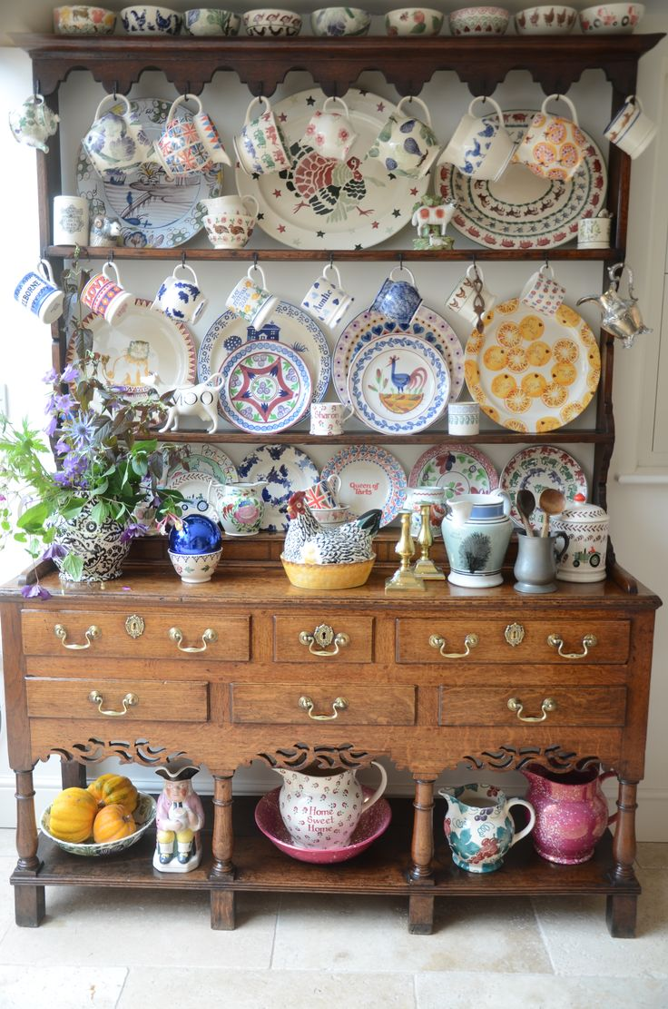 Country Vintage Kitchen Crockery