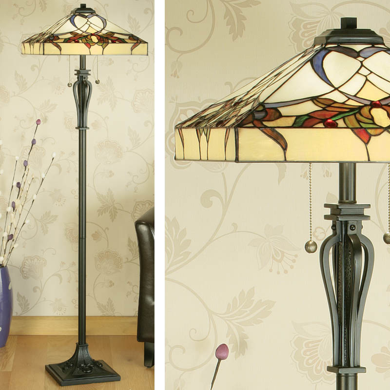 Décor Through The Decades: The 1920s - Art Nouveau Style Floor Lamp
