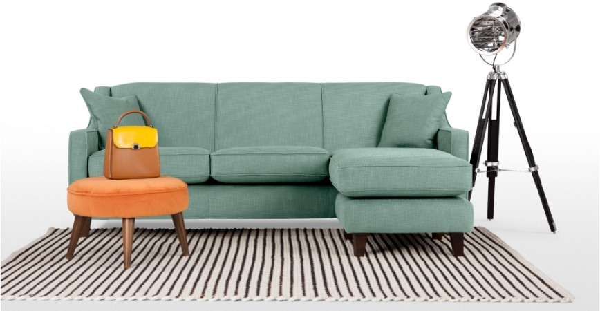 Décor Through The Decades: The 1920s - Halston Corner Sofa