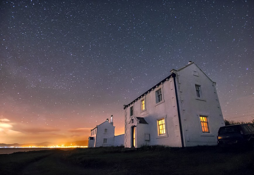 'Someone's Home' – Black Point, Anglesey