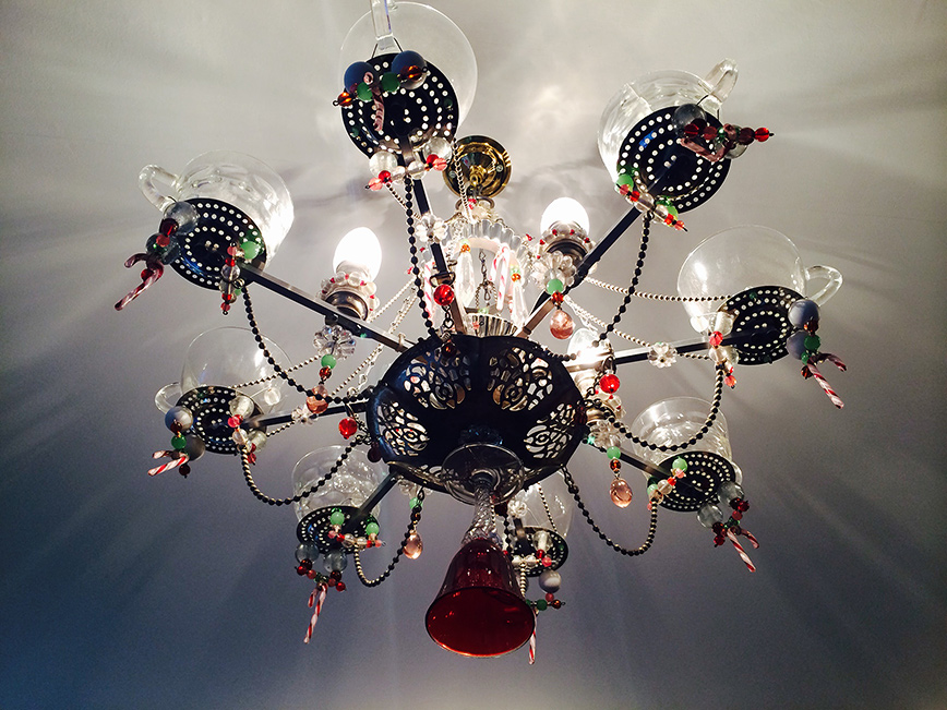 12 amazing teacup chandeliers aloadofball