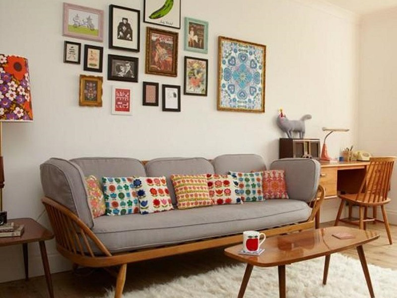 unique retro interior design ideas