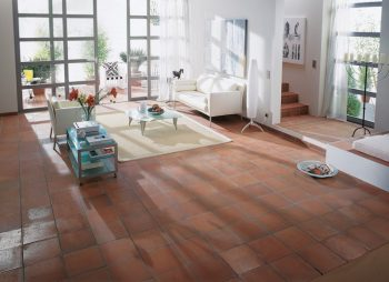 Terracotta room decor