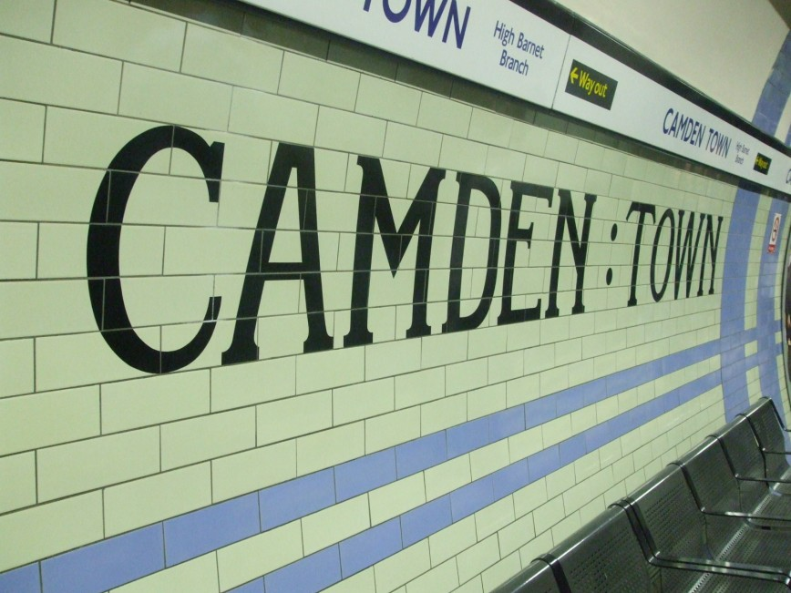 5 Ways To Add Victorian Style - Camden Town Underground Station - Metro Tiles