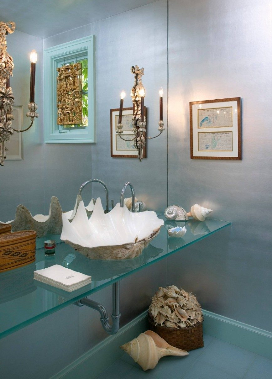 11 Unique Ways To Use Shells In Your Home Decor - Image From Houzz.co.uk - By Giffin & Crane General Contractors