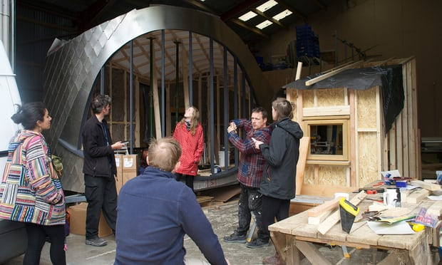 8 Winning Tiny Houses In Wales -Dragons Eye Designed Made By Carwyn Jones At The Centre For Sustainable Technologies - Image From TheGuardian.com