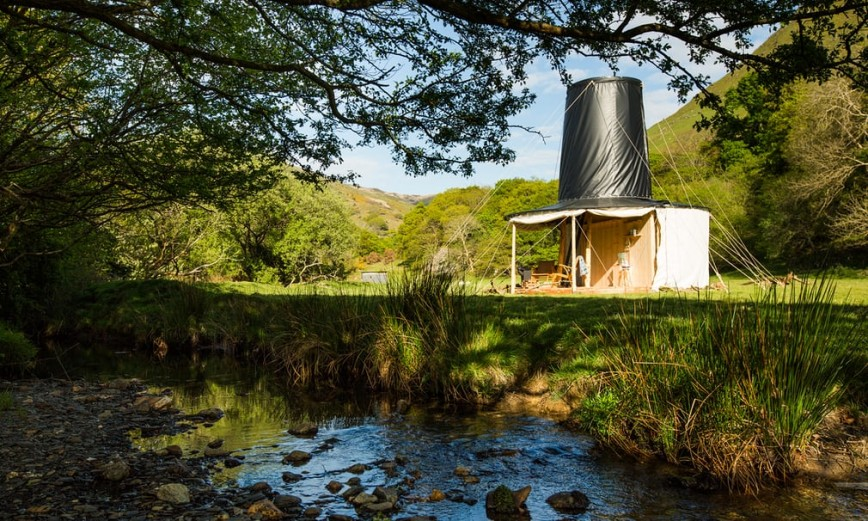 8 Winning Tiny Houses In Wales - Black Hat Designed By Rural Office for Architecture Image From TheGuardian.com