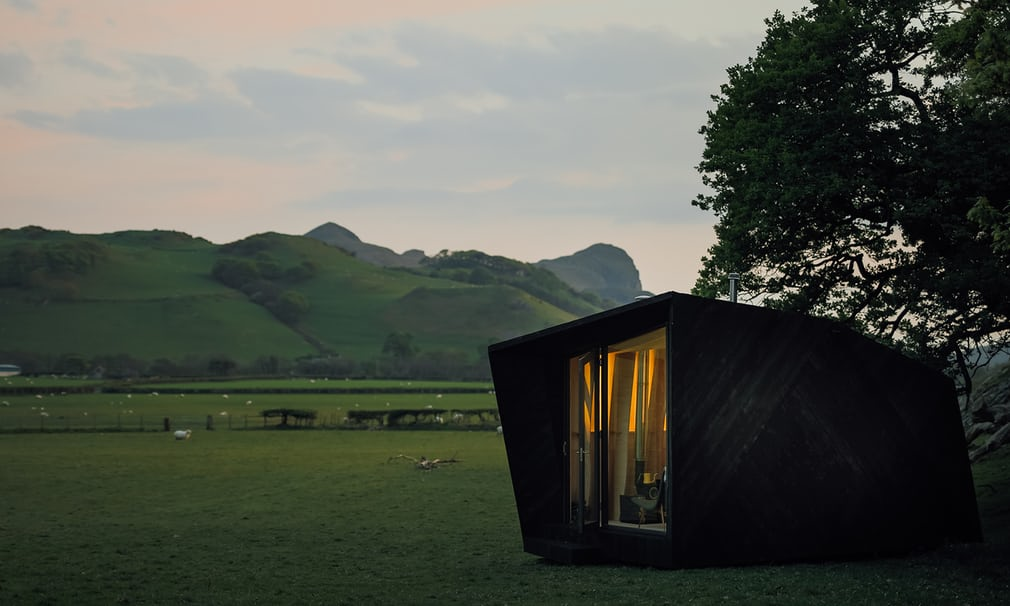 8 Winning Tiny Houses In Wales - Arthur's Cave Designed By Miller Kendrick Architects Image From TheGuardian.com