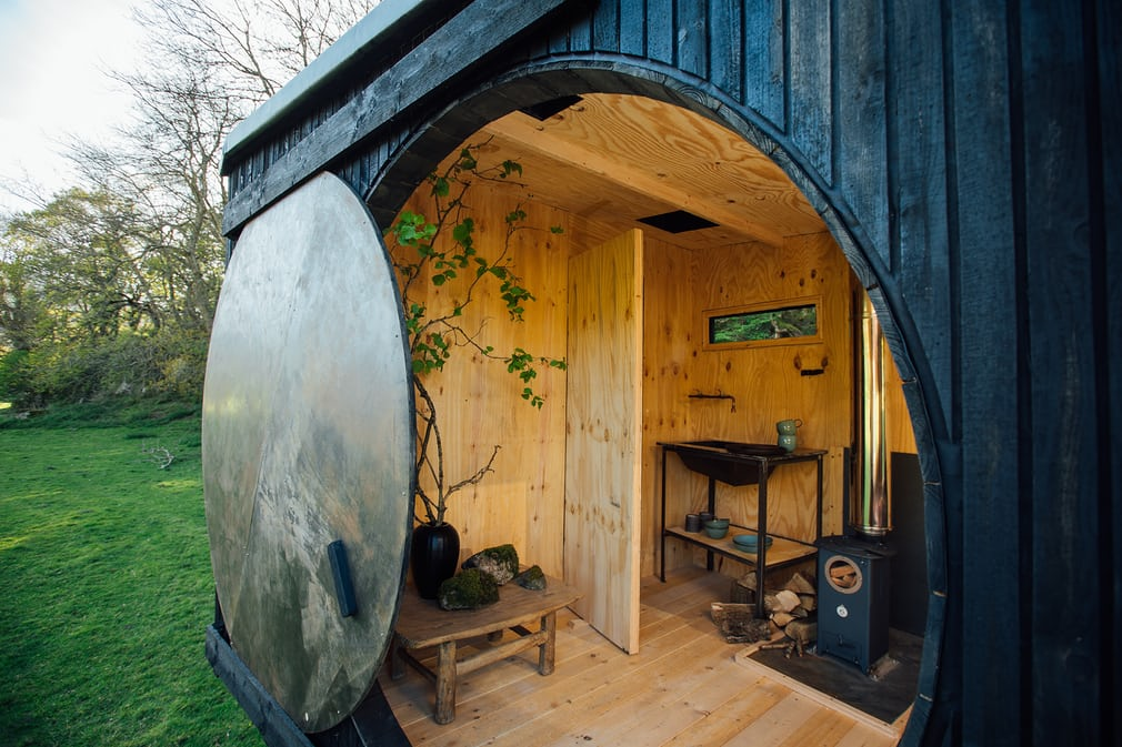 8 Winning Tiny Houses In Wales - Animated Forest by Francis and Arnett - Image From TheGuardian.com