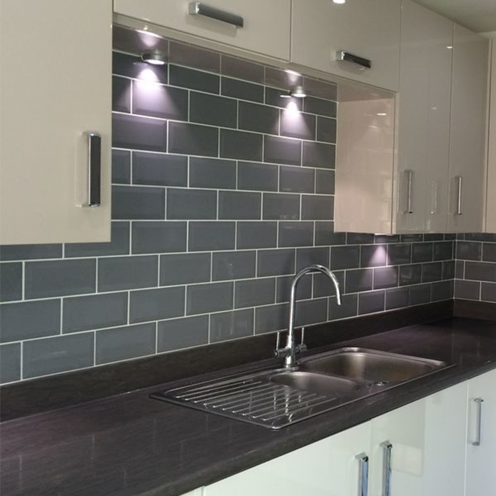 Grey Slate Kitchen Wall Tiles: Kitchen Backsplash Tile Ideas For 2018
