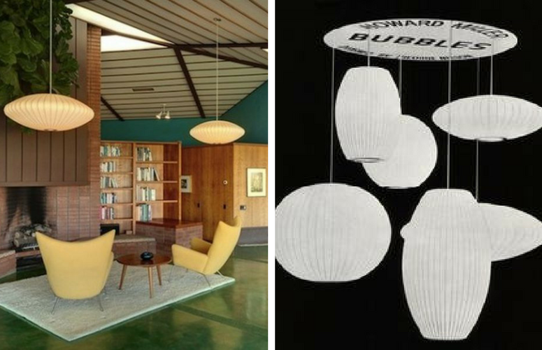 Iconic Lighting Designs - George Nelson Bubble Lamp