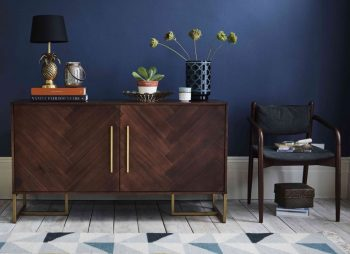 How To Transform Your Living Space With The Dark Wood Trend - Image From Ideal Home
