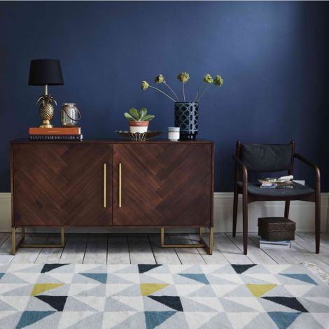 How To Transform Your Living Space With The Dark Wood Trend
