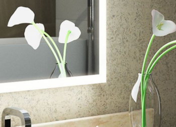 Modern Transformations In Bathroom Mirrors - 360 Edge Lit Mirror - From Illuminated Mirrors