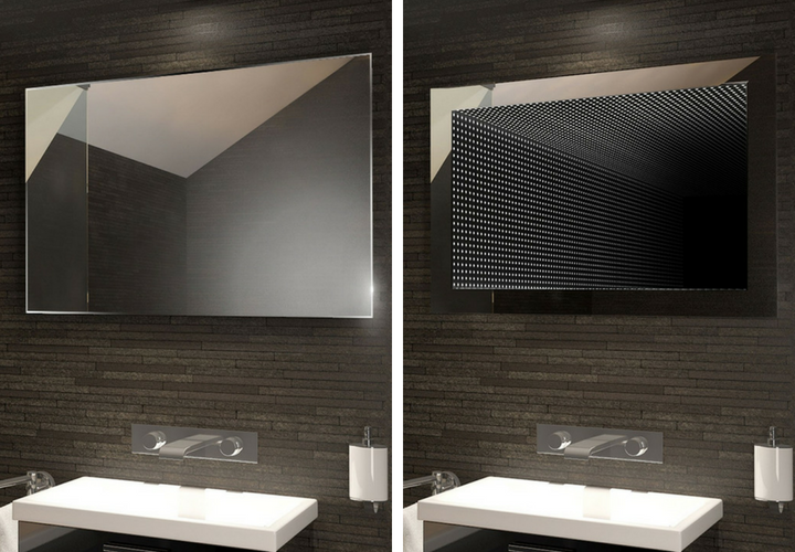 Modern Transformations In Bathroom Mirrors - Infinity Mirror - From Illuminated Mirrors