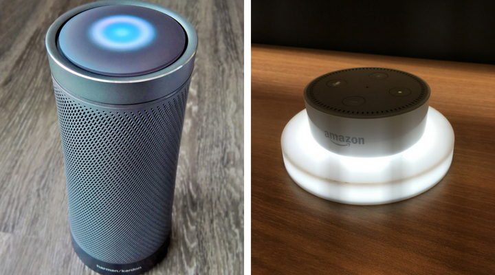 What Are The Best Voice Command Devices For Home Automation? - Amazon Dot And Invoke (Cortana)