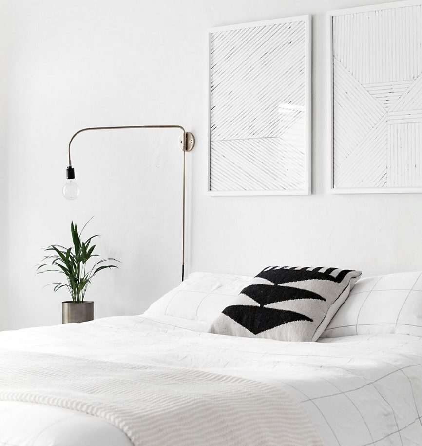 5 Bedroom Decor Styles That Will Be Trendy This Summer - Minimalist Bedroom - Image From homeyohmy.com