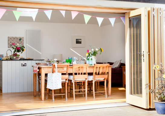 Decorating Before/After Fitting Your New Bi-Fold Doors - Image From idealhome.co.uk