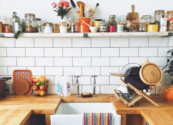 Making The Most Of Your Space - Image Via Instagram - By ainecarlin - Kitchen