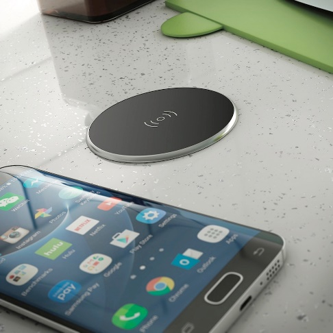Space And Stress Saving Kitchen Gadgets - Wireless Charging Port