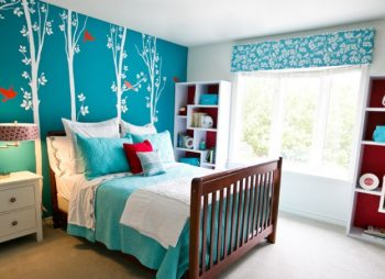 How To Update Your Teenager Girls Bedroom - Image From RobinGonzalesInteriors.com