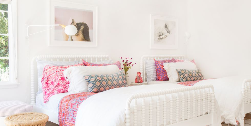 How To Update Your Teenager Girls Bedroom - Image From HouseBeautiful.com - By Tessa Neustadt