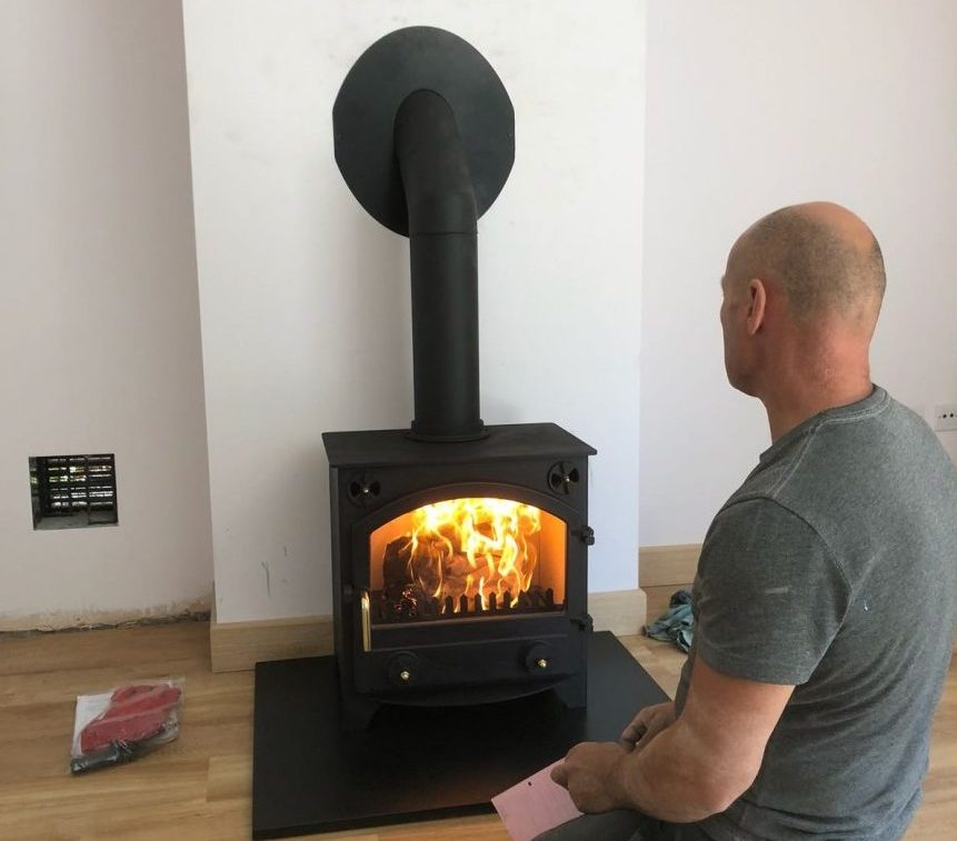 Can A Property With No Chimney Still Have A Real Fire?
