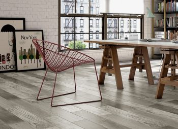 Five Benefits Of Wood Effect Tiles (And How To Style Them) - Samba Multi Porcelain Floor Tiles- Image Via CrownTiles.co.uk