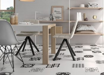 How To Maximise A small Space With Clever Floor Tile Tricks -Vendome Porcelain Wall & Floor Tiles