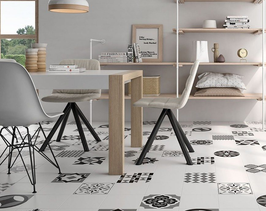 How To Maximise A small Space With Clever Floor Tile Tricks