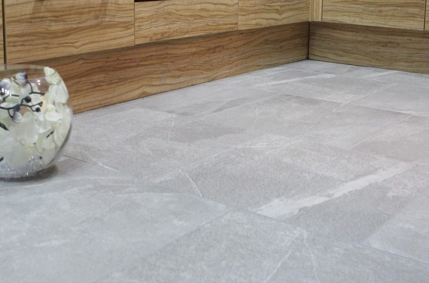 How To Maximise A small Space With Clever Floor Tile Tricks -Magma Grey Porcelain Floor Tiles