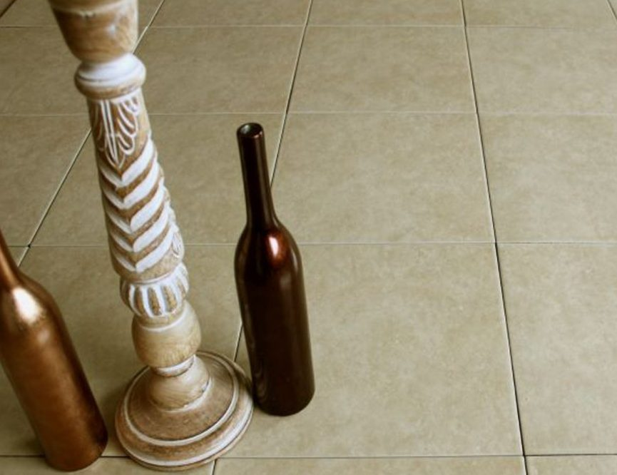 How To Clean Your Floor Tiles - New Rustica Almond Ceramic Floor Tiles - By Crown Tiles