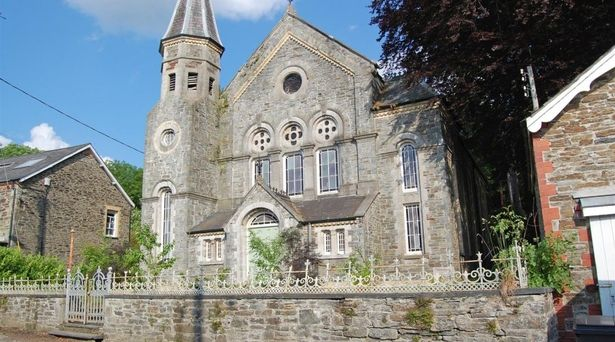 7 Things To Consider Before Buying A Project Property - Former Methodist Church - Grade II Listed Building Tre'r Ddol, near Machynlleth   -  Image Credit: BJP Residential Llandeilo - Via walesonline.co.uk