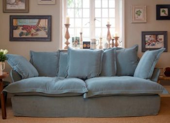 Corduroy Song Sofa - Image Via MakerAndSon.com