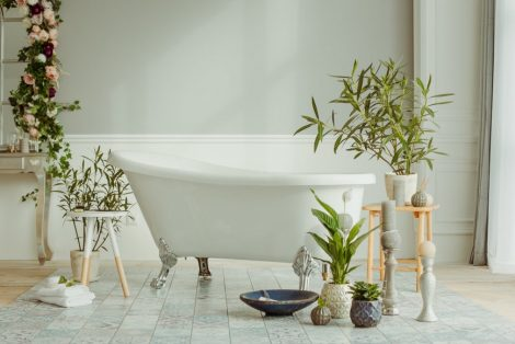 5 Botanical Looks For Your Bathroom