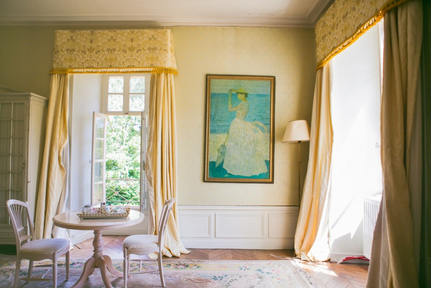 French decorated room