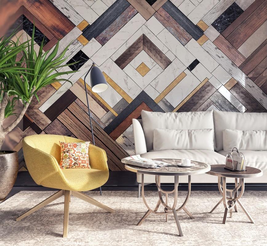 Wood Paneled Walls
