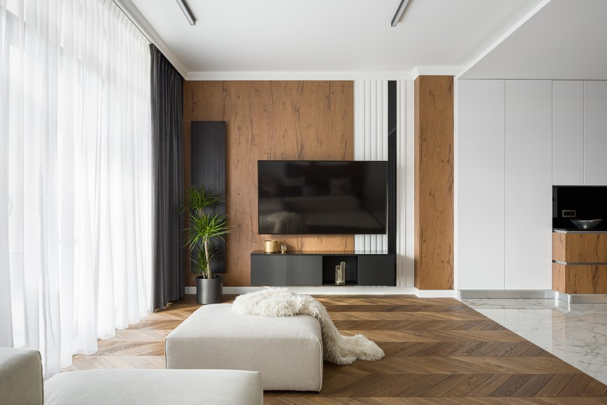 How To Get A Real Wood Effect Wall Without The Cost