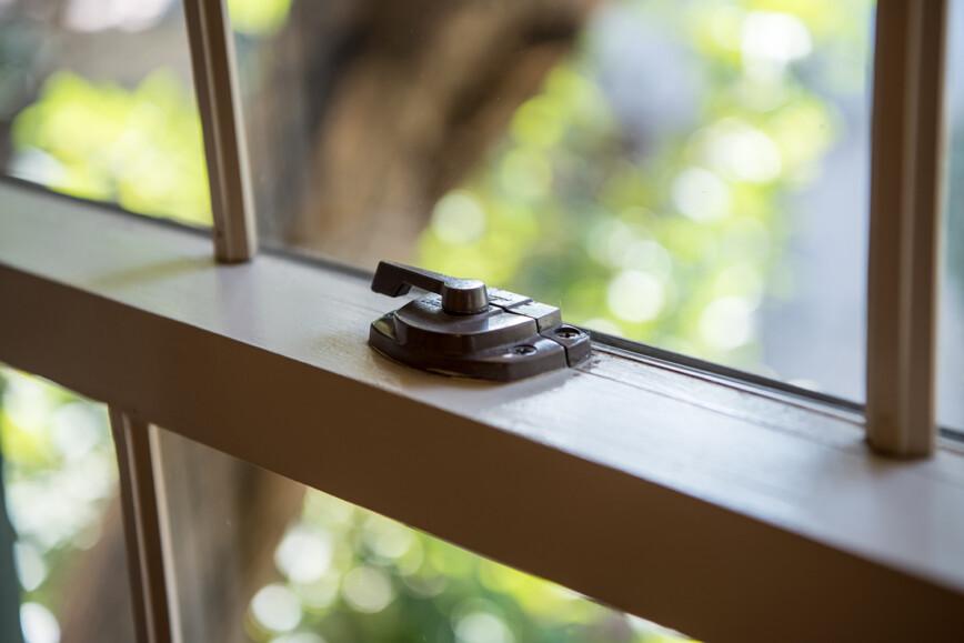 Slash window lock