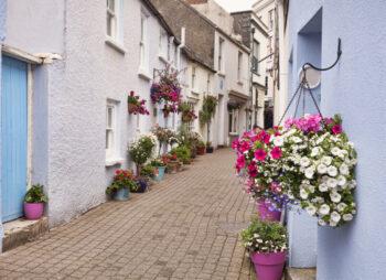 Cobb Lane, Tenby, Pembrokeshire, Wales