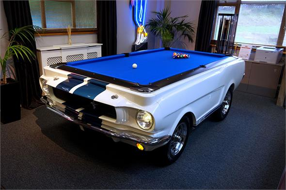 Shelby GT-350 1965 Car Pool Table - Via HomeLeisuredirect.com