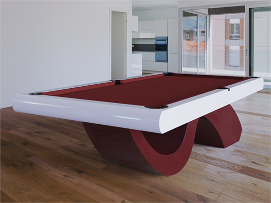 Picasso Design Pool Table - Via HomeLeisuredirect.com