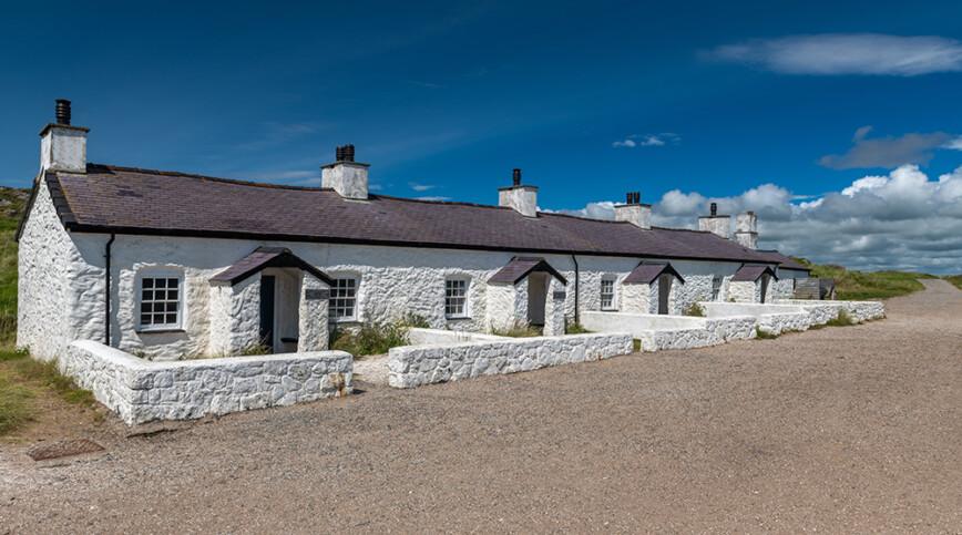 Goleudy Twr Bach at Ynys Llanddwyn on Anglesey, North Wales