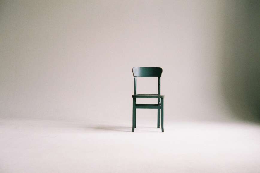 Minimalism - Chair in bare room
