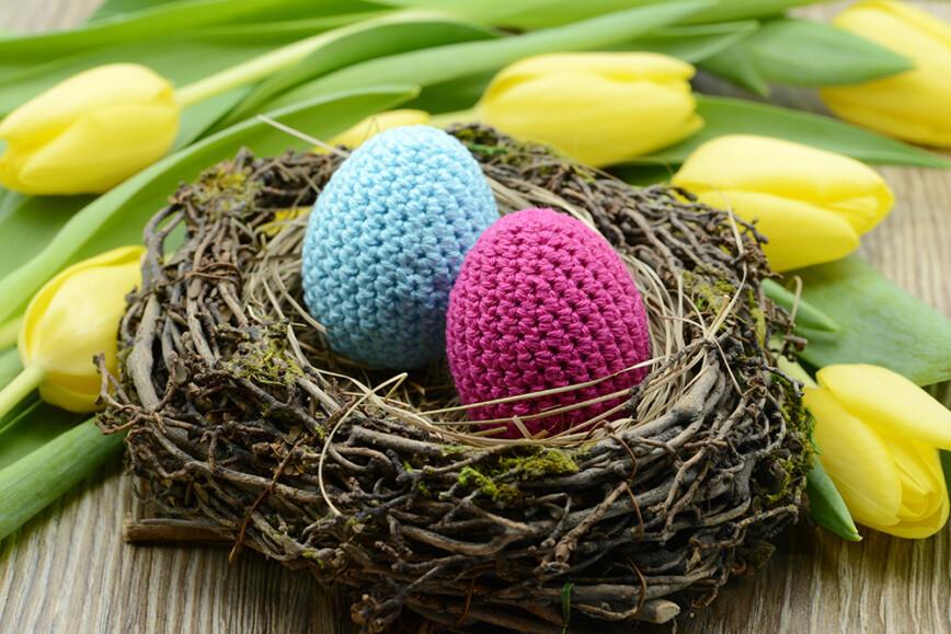 Homemade Easter Egg nest