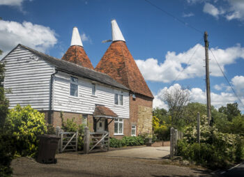 Oasthouse in Kent, UK