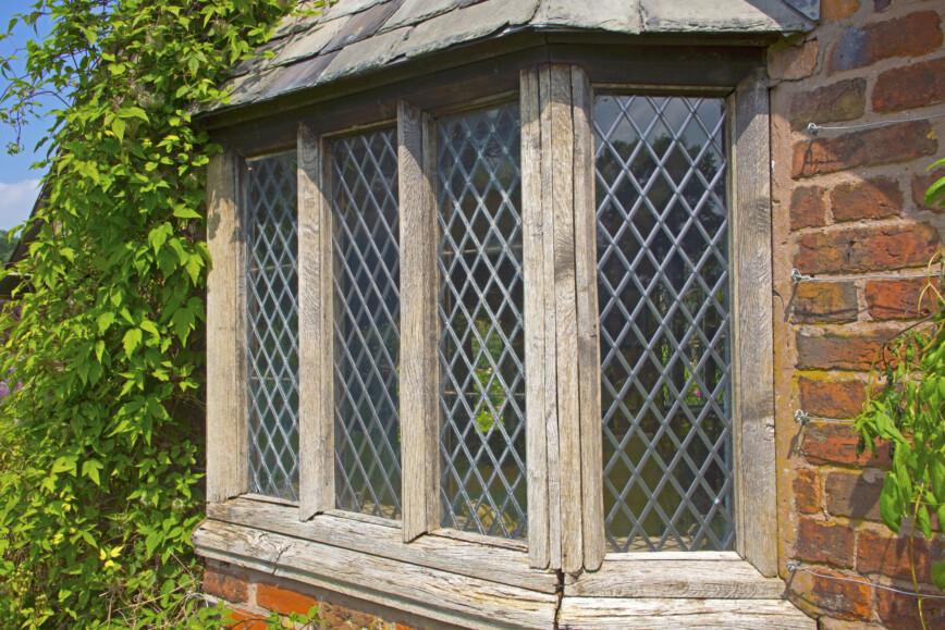 Old lead windows